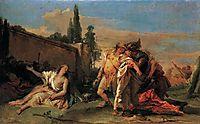 Rinaldo-s Departure from Armida, 1760, battistatiepolo