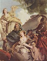 Sacrifice of Iphigenia, battistatiepolo