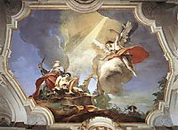 The Sacrifice of Isaac, 1729, battistatiepolo