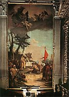 The Sacrifice of Melchizedek, 1742, battistatiepolo