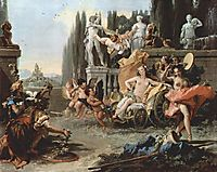 The Triumph of Flora, 1744, battistatiepolo