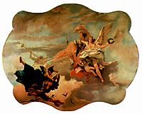 The Triumph of Fortitude and Sapiency, c.1750, battistatiepolo