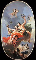 The Triumph of Zephyr and Flora, 1735, battistatiepolo