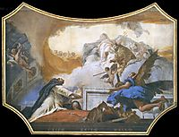 The Virgin Appearing to St Dominic, 1739, battistatiepolo