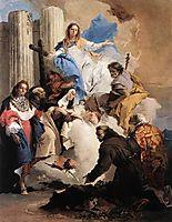 The Virgin with Six Saints, 1740, battistatiepolo