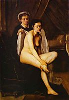 After the Bath, 1870, bazille