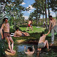 Bathers, Summer Scene, 1869, bazille