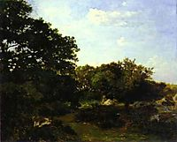Forest of Fontainebleau, 1865, bazille