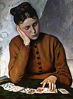The Fortune Teller, c.1869, bazille