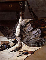 The Heron, 1867, bazille