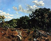 Landscape at Chailly, 1865, bazille