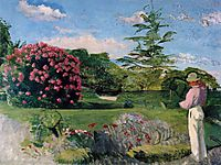 The Little Gardener, 1866, bazille