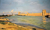 Mall of Aigues-Mortes, 1867, bazille