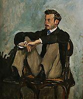 Portrait of Auguste Renoir, 1867, bazille