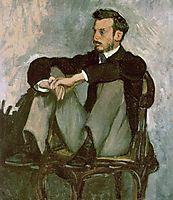 Portrait of Pierre-Auguste Renoir, 1867, bazille