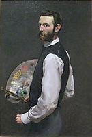 Self-Portrait, 1865-1866, bazille