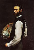 Self-Portrait, 1866, bazille