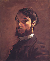 Self-Portrait, 1868, bazille