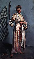 Woman in Moorish Costume, 1869, bazille