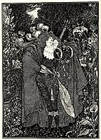 The Abbe Fanfreluche, beardsley