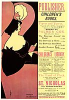 Advertisement for Children-s Books, 1894, beardsley