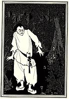 Ali Baba in the Woods, 1897, beardsley