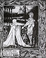 Arthur and the Strange Mantle, beardsley