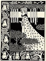 The Beale Isoud at Joyous Gard, beardsley