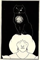 The Black Cat, beardsley