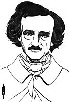 By Edgar Allan Poe, beardsley
