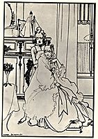 The Coiffing, 1896, beardsley