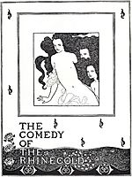 The Comedy of the Rhinegold, frontispiece, beardsley