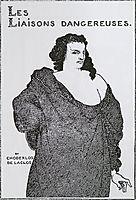 Count Valmont, 1896, beardsley