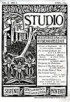 The Cover of The Studio Volume 1, beardsley