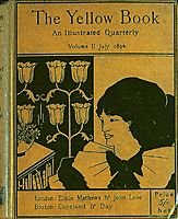 The cover of The Yellow Book, 1894, beardsley