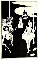 Design for the Frontispiece to , beardsley