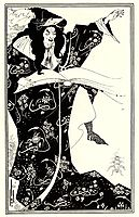 Design for a Frontispiece to -Virgilius the Sorcerer-, beardsley