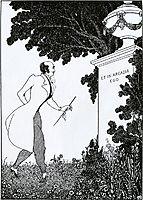 Et in Arcadio Ego, 1896, beardsley