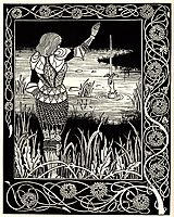 Excalibur in the Lake, beardsley