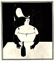 The Fat Woman, beardsley