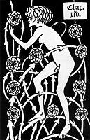 Hermaphrodite Among Roses, 1894, beardsley