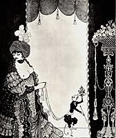 The Lady with the Monkey, beardsley
