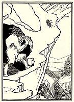 The Landslip, beardsley