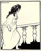 Messalina Returning from the Bath, beardsley
