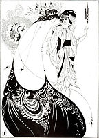The Peacock Skirt, 1893, beardsley
