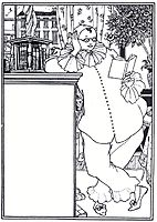 Pierrot, beardsley
