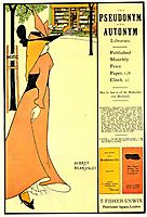 Publicity poster for -The Yellow Book-, beardsley