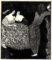 A Repetition of Tristan und Isolde, beardsley