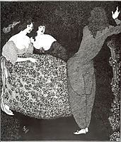 A Repetition of , 1896, beardsley