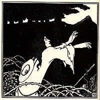 The return of Tannhauser to the Venusberg, 1895, beardsley